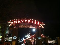 I fell in love with Navy Pier in Chicago