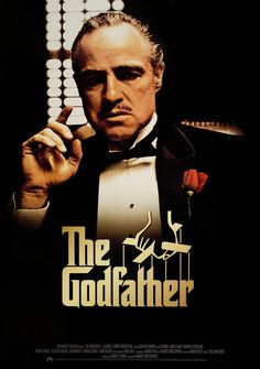 The Godfather - 1972 Der Pate The aging patriarch of an organized crime dynasty transfers control of his clandestine empire to his reluctant son. Starring: Marlon Brando, Al Pacino, James Caan Directed By: Francis Ford Coppola Godfather Part 1, The Godfather Poster, Godfather Movie, The Godfather Wallpaper, Marlon Brando, Best Classic Movies, Great Movies, Der Pate Poster, Film Movie