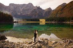Wedding in Dolomites lake. Wedding Photography, Adventure, Nature, Travel, Italia, Naturaleza, Viajes, Destinations, Adventure Movies