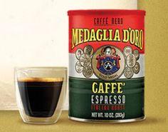 FREE Sample of Medaglia d'Oro Coffee