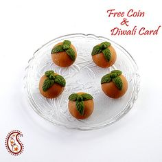 Stuffed Kajoo Orange with Free Laxmi Ganesh Coin