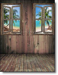 WINDOW SELF ADHESIVE WALL MURAL