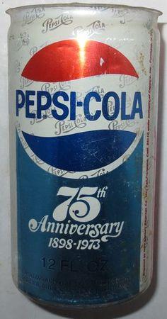 75th Anniversary Diet Pepsi, Pepsi Cola, Coke, Vintage Coca Cola, Cola Wars, Pop Cans, Vintage Soft, Mountain Dew, Vintage Bottles