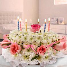 Pastel de amor, flores para cumpleaños: http://www.floresparacolombia.com/producto_info.php?products_id=537&inicio=167