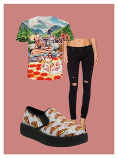 Pizza 8 by jana-khramova on Polyvore featuring картины