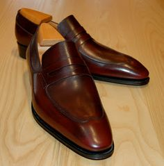 J.M. Weston loafer http://www.theshoesnobblog.com/