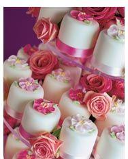 Rose Tea Cottage Mini Cakes