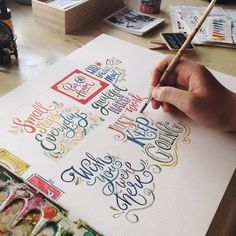 Hello! I'll be doing a live demo on lettering at the @katipunanartfestival next weekend at 3PM. Hope to see you!  - PS: Enjoy the long weekend  - : @bertwogarcia by abbeysy