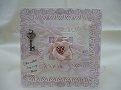 Zandy's Cards: Key to my heart Martha Stewart Punches