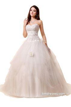 http://www.ikmdresses.com/2015-Bridal-Gowns-Women-Sweetheart-A-line-Wedding-Dresses-p88047
