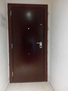 Detalle Interior #Puerta #acorazada V200 Sapelly Rameado con cilindro K3 #antibumping La mayor #seguridad al mejor #precio
