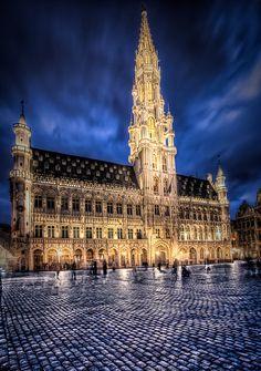 Hotel de Ville, Brussels, Belgium (Visited February and April 2013)