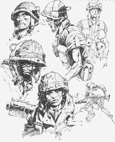 Some ink sketches today. Thanks for all the follows!