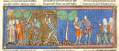 Lancelot du Lac, MS M.805 fol. 76v - Images from Medieval and Renaissance Manuscripts - The Morgan Library & Museum