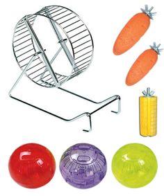 Juguetes para hámster, para jugar y roer   Decoración para roedores con precios low cost • Toys for hamsters