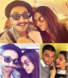 Ranveer And Deepika Selfies | #BollywoodSelfies