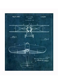 airplane blueprints