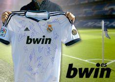 bwin.es regala la camiseta firmada del Real Madrid #SorteosActivos #sorteamus Sorteo por @bwin