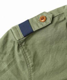 MAISON DE REEFUR KIDS(メゾンドリファー キッズ)のキッズミリタリーシャツ(シャツ/ブラウス) 詳細画像