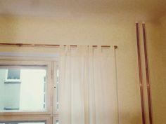 Komplett Neu Kupfer, oh Kupfer! Meine neue Gardinenstange | Curtain rails, Diy  LU21