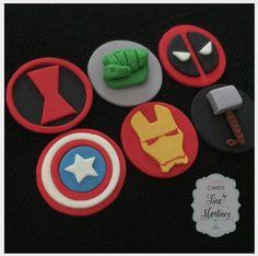 Hardika tum mera sa pyarr kar thi ho na Hulk Cupcakes, Avenger Cupcakes, Avenger Cake, Fondant Cupcakes, Superhero Cupcake Toppers, Superhero Cake, Ironman Cake, Marvel Cake, Decorated Cookies