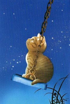 ❧ Illustrations chats ❧ 2 by Makoto Muramatsu I Love Cats, Crazy Cats, Cute Cats, Art Fantaisiste, Image Chat, Photo Chat, Here Kitty Kitty, Cat Drawing, Whimsical Art