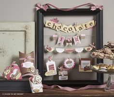 Picture frame and banners