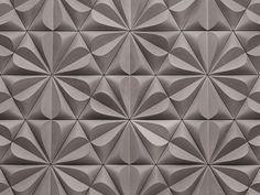 Azulejo tridimensional de fibrocemento SEED - KAZA Concrete