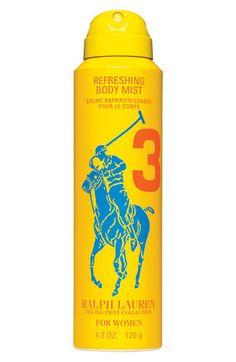 Ralph Lauren 'Big Pony #3 - Yellow' For Her Refreshing Body Mist | Nordstrom