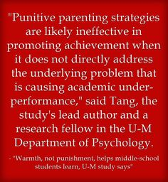 Surprise, Surprise – Punishment May Not Be The Best Parenting (Or Teaching) Strategy