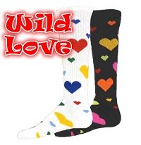 Wild Love Baseball-Softball Socks