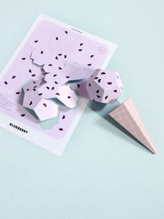 Make Paper Ice Creams