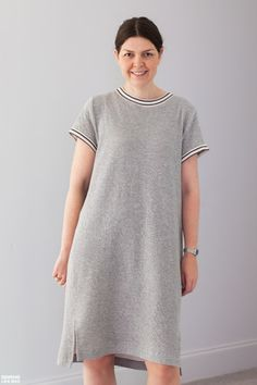 Sewing Like Mad's Inari Tee by Named Clothing | Indiesew.com