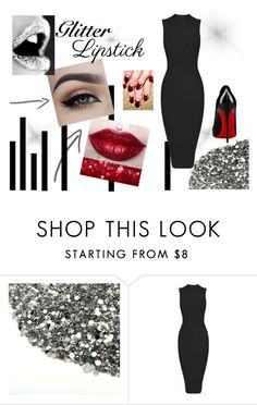 """""""Glitter Lipstick"""" by kerry-chesterman on Polyvore featuring beauty and Kat Von D"""
