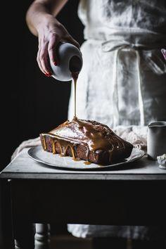 Chocolate Almond Marble Cake