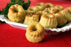 Rosemary-Cheese Mini-Guglhopf, Finger-food