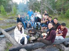 Finland: Alkaios was intern in Finland in 2012. Let's have a look at a photo from one of the trips the IAESTE interns had there :)
