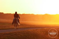 ridin' off into the sunset, down our road?
