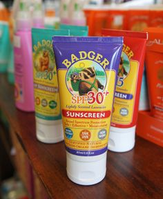 Badger Sunscreen – an organic product – is for sale at Earthly Goods in Gurnee.