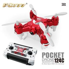FQ777-124C MINI With 2.0MP HD Camera With Switchable Controller RC Quadcopter RTF