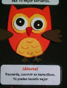 Semaforo conducta búhos (5) - Imagenes Educativas
