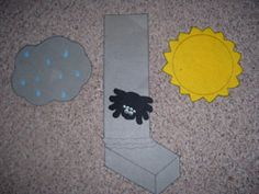 Felt Board Pieces for Itsy Bitsy