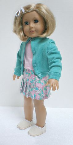 American Girl Doll Clothes -- SWEATER, SHIRT,