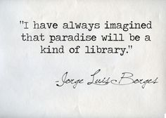 heaven as a library