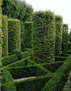 Oscar de la Renta's Garden
