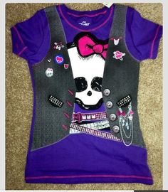 I found a ton of Monster High shirts and this is one of them. She loves them. I think we have like $9.95 or something like that. Decent price.
