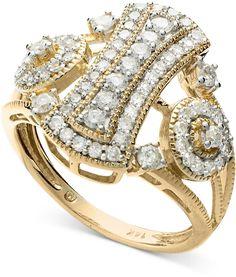 Diamond ring in 14k gold