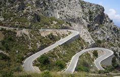 Carretera de sa Calobra Spain