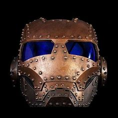 Sci-Fi Steampunk Masks - Paul McCue Gives Pop Culture Robot Characters a Victorian Makeover (GALLERY)