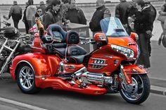 TRIKE motorbike bike motorcycle chopper Honda Trike, Goldwing Trike, Custom Trikes, Custom Motorcycles, Trike Motorcycles, Touring Motorcycles, Harley Davidson Trike, Scooter Custom, Old School Chopper